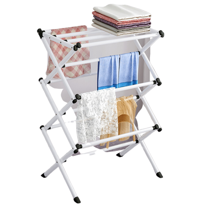 Clothes Rack Simple And Easy Dry Clothes Rack Household Folding Air Drying Towel Clothes Rack Clothes