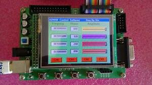 Ad9959 200 mhz dds gerador de sinal + tft lcd placa desenvolvimento stm32f103