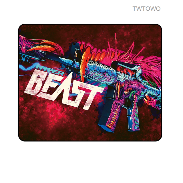 Mats Locking Edge Gaming Mouse Pad Gamer Small Size Game Rubber Mousepad Laptop Play Mat Keyboard Pad For Home Office