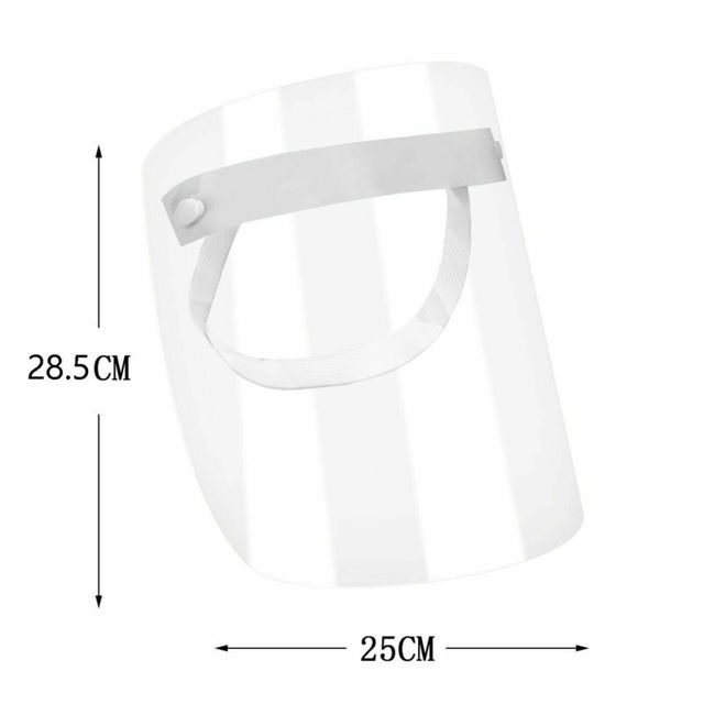 2020 Newest Protective Visor Hot 1 PC Anti-virus Saliva Transparent Mask Protective Face Shield PVC Protection 4