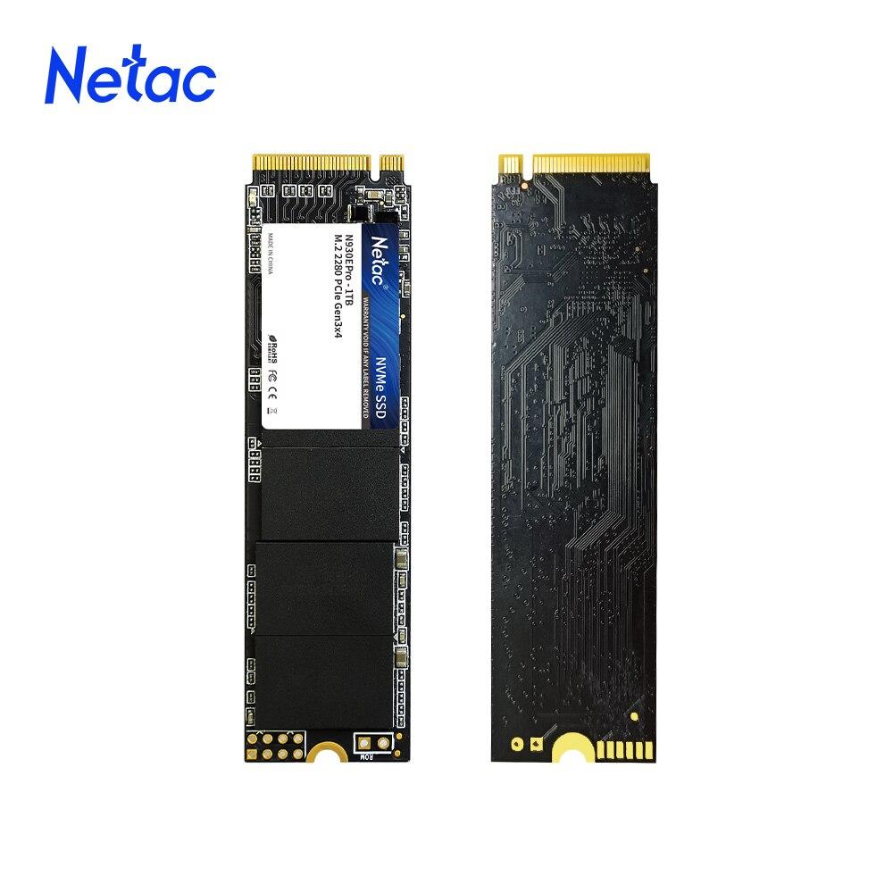 Netac M.2 ssd PCIe SSD NVME M2 1 ТБ 512GB 250GB твердотельный накопитель M.2 2280 nvme внутренний жесткий диск ssd жесткий диск для ноутбука, настольного компьютера