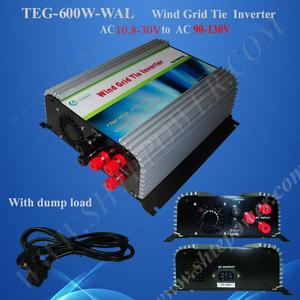 Image 1 - 풍력 그리드 타이 인버터 600 w, 3 단계 그리드 타이 인버터 ac 10.5 30v 100 v, 110 v, 120v ac 출력 순수 사인 웨이브 인버터
