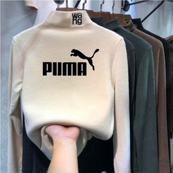 PUMA Women Sweaters 2020 Autumn Winter Tops Korean Slim Women Pullover Knitted Sweater Jumper Soft Warm Pull Femme