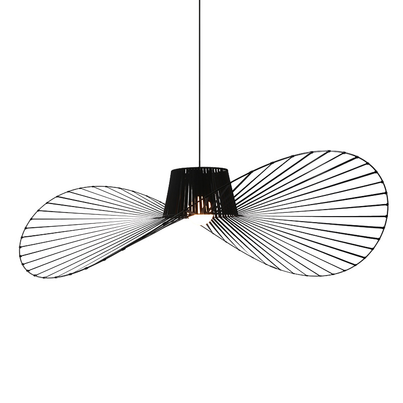 Image 1 - black white Ceiling Lights for living room bedroom restaurant modern ceiling lamp industrial lamparas de techo fixtures lighting-in Ceiling Lights from Lights & Lighting