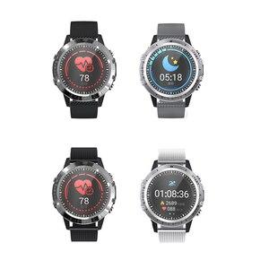 "Image 2 - אק""ג PPG חכם שעון גברים ספורט מדויק קצב לב Bluetooth Smartwatch עמיד למים IP68 מדויק דם לחץ חמצן smartband"