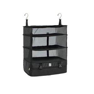 Портативная дорожная сумка для хранения крючок подвесной Органайзер шкаф стеллаж для хранения одежды держатель Дорожный чемодан полки