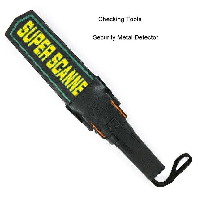 Высокая чувствительность Выделенные супер сканеры портативный ручной безопасности металлоискатель, оборудование для контроля металла