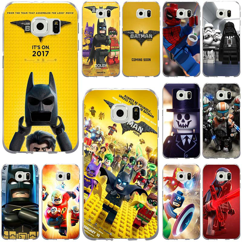 Marvel Legos Superheroes Soft Phone <font><b>Cases</b></font> for <font><b>Samsung</b></font> Galaxy Note 2 3 5 8 9 S2 S3 S5 Mini S6 <font><b>S7</b></font> S8 S9 S10 <font><b>Edge</b></font> Plus Lite Shell image