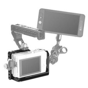 Image 5 - Smallrig M100 Camera Kooi Voor Canon Eos M100 Camera Functie Met 1/4 3/8 Schroefdraad Gaten Voor Magic Arm Microfoon Diy opties 2382