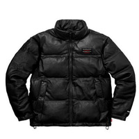 New men and women couple coat leather down jacket