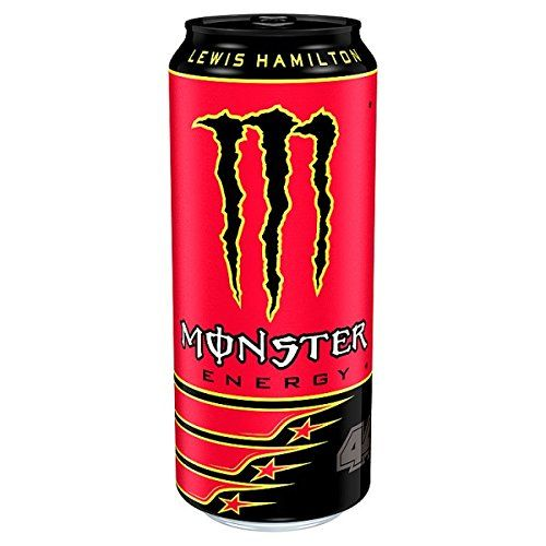 Monster Energy Lewis Hamilton 44 500ml PMP 1,19 (Packung Mit 12 X 500 Ml)