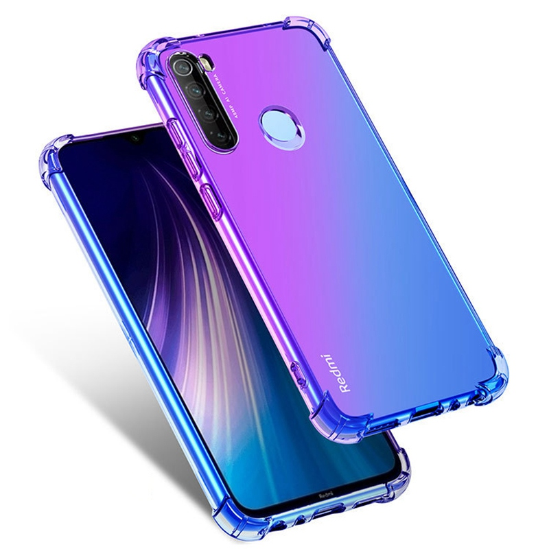 Gradient Color TPU Cover Phone Case For Xiaomi Redmi Note 7 8 Pro 8Pro K20 Pro 7 7A For Xiaomi Mi 9 Lite SE 9T Pro A3 Lite Coque