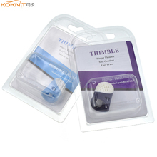 KOKNIT 2size Silicone Thimble Tip Finger Protection  S M Protector Quilting Craft Sewing Needlework Accessory