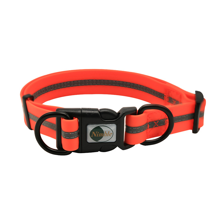 Waterproof Pet Collar Adjustable Reflective Dog Neck Ring Small Large Dog Collar Pet Supplies Manufacturers Wholesale