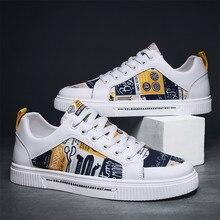 Spring Low Women Fashion Sneakers Men Shoes Casual Graffiti