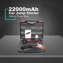 Автомобильное пусковое устройство, портативное пусковое устройство, зажигалка 4USB 22000 mAh, автомобильный стартер 600A, портативное зарядное устройство для стартера автомобиля, зажигалка