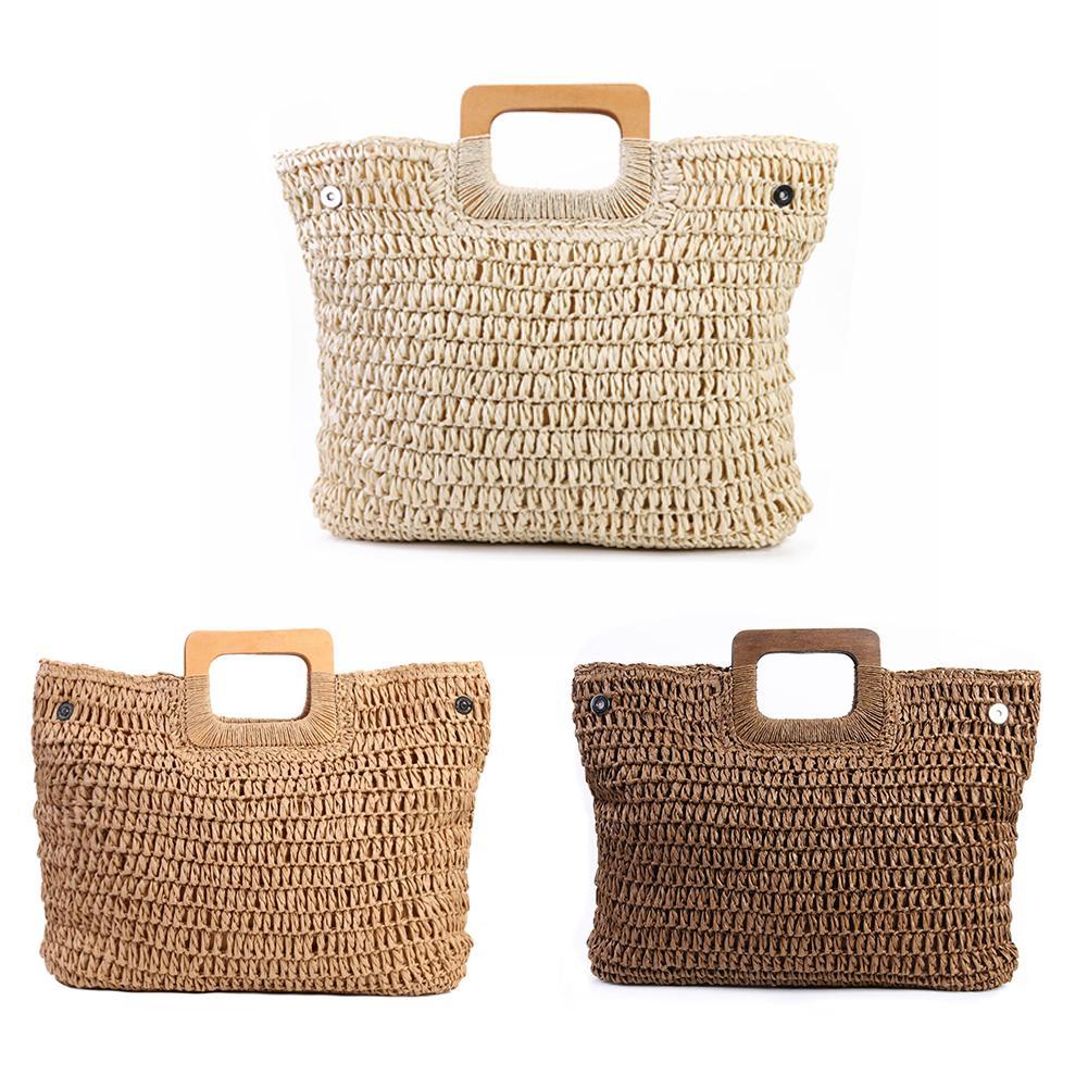Handmade Straw Shopper Bag for Summer 2021