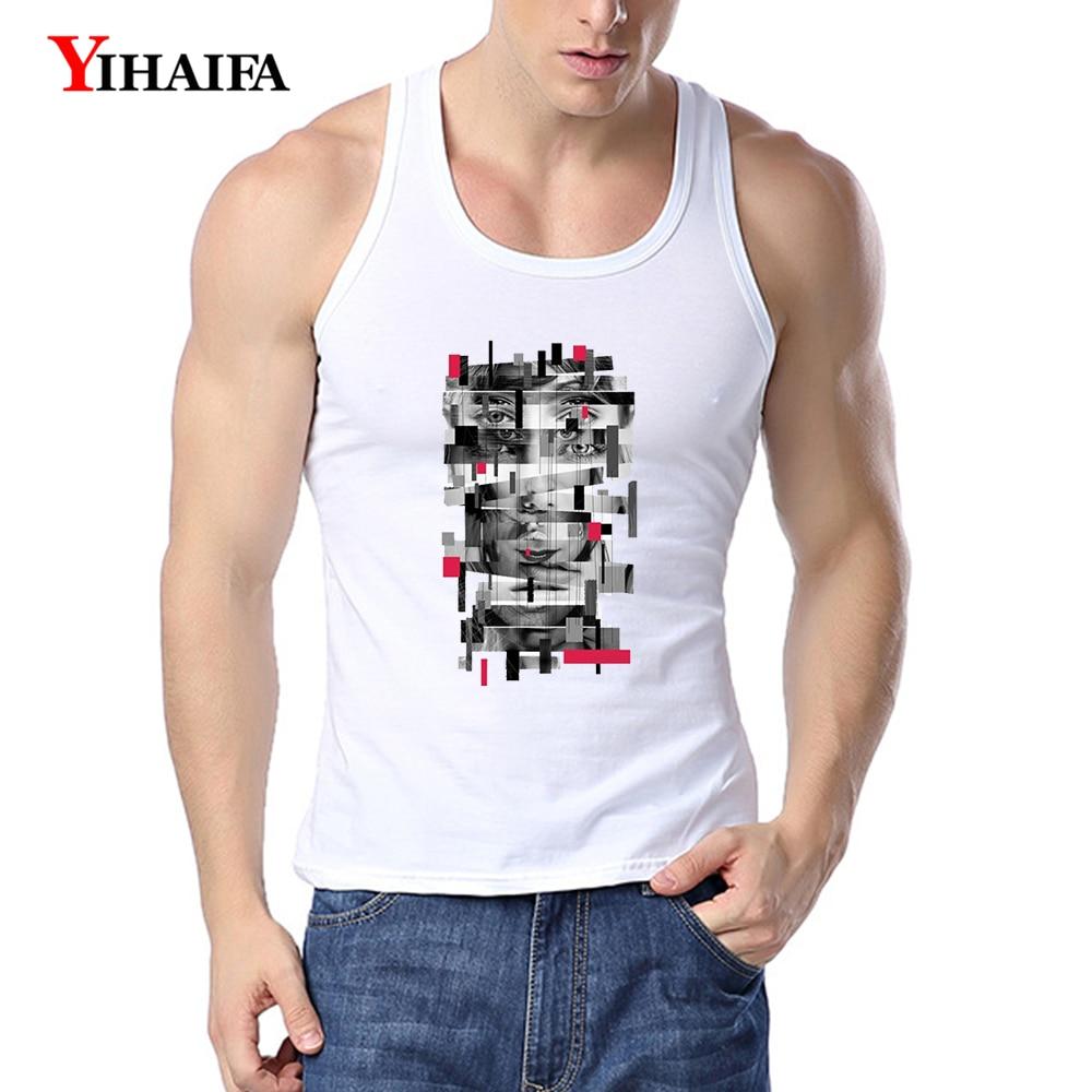 gym men tank top Fitness shirt singlet Bodybuilding workout  sleeveless vest
