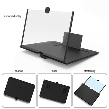 NEW 3D HD Stand Screen Amplifier Mobile Phone Magnifying Glass For Video Folding Enlarged Eyes Protection Holder
