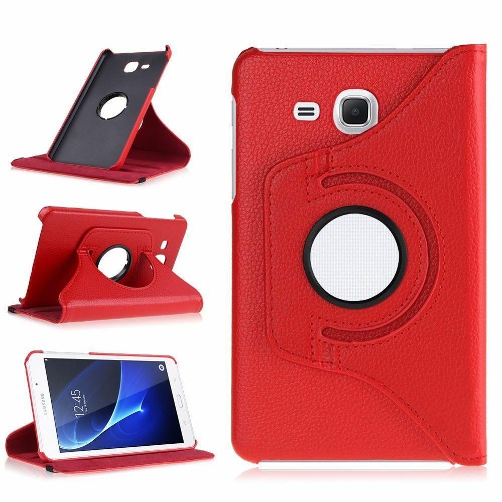 Чехол с функцией поворота на 360 градусов для Samsung Galaxy Tab A A6 7,0 2016 дюйма, чехол для телефона 360 дюйма, умный чехол из искусственной кожи для Samsung T280 T285, чехол-5