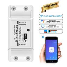 WiFi Smart Switch 433Mhz Intelligent Remote Wall-in Wireless Control For Home Wifi 10A 2200W