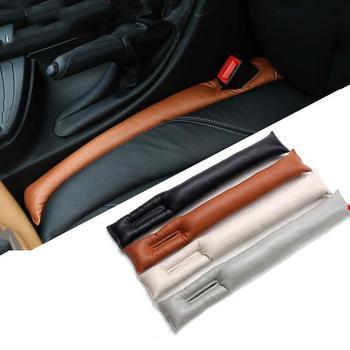 2 szt Przestrzeń obok siedzenia samochodowego wtyczka szczelna taśma poduszeczka wypełniający lukę uniwersalne akcesoria samochodowe tanie i dobre opinie Cztery pory roku Other CN (pochodzenie) Pokrowce i podpory
