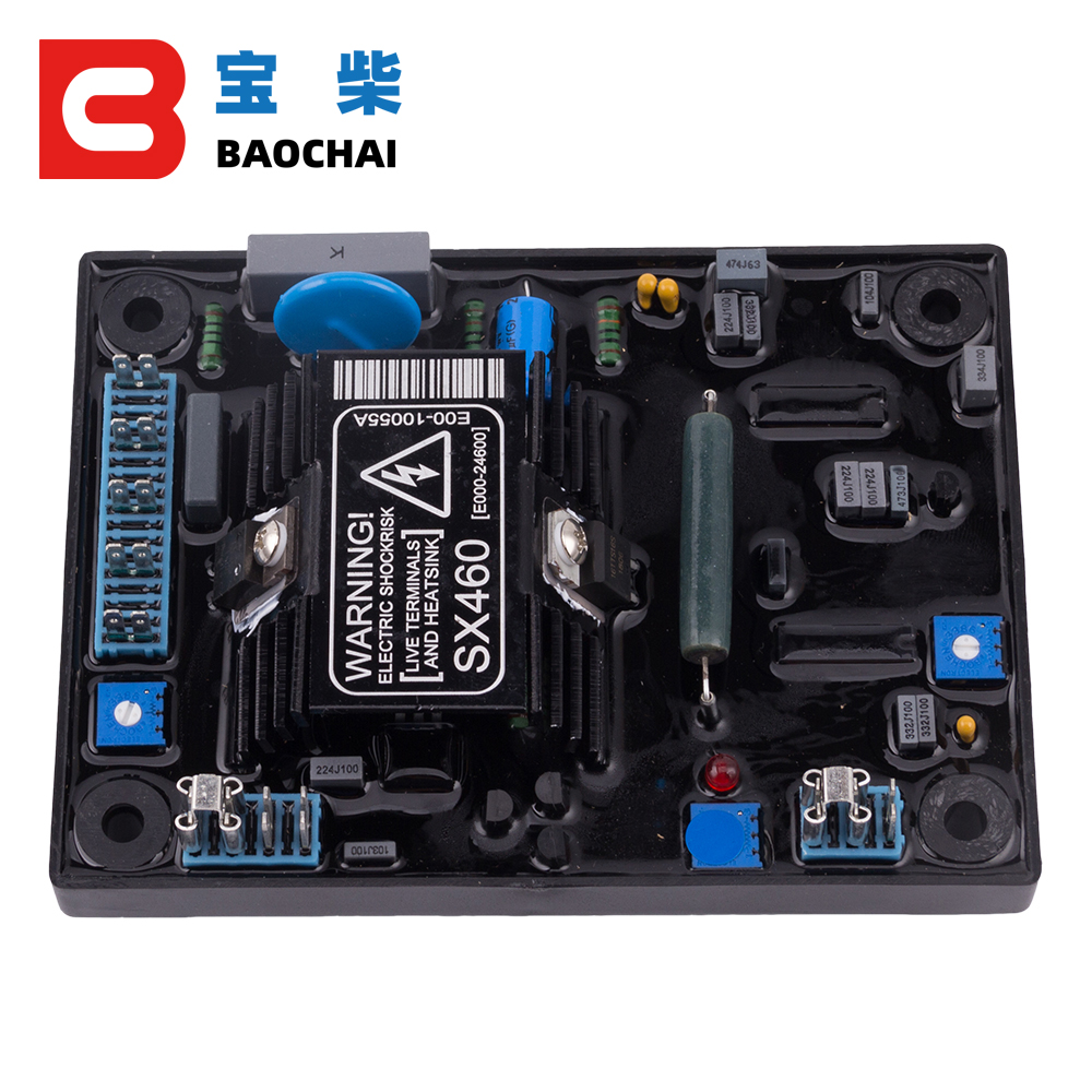 SX460 AVR Regulador de voltaje autom/ático SX460-A Regulador de voltaje autom/ático Controlador AVR para generador Generador monof/ásico Regulador de voltaje autom/ático