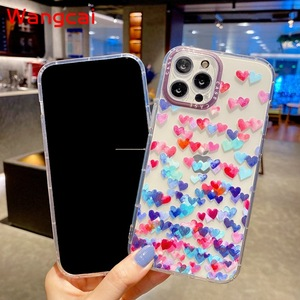Image 5 - Clear Heart Case For Xiaomi Mi 11 10T Pro Poco M3 Redmi 9T 9A 9C Note 10 4G 9S 9 Pro Max  8 7 Case Love Phone Soft TPU Cover