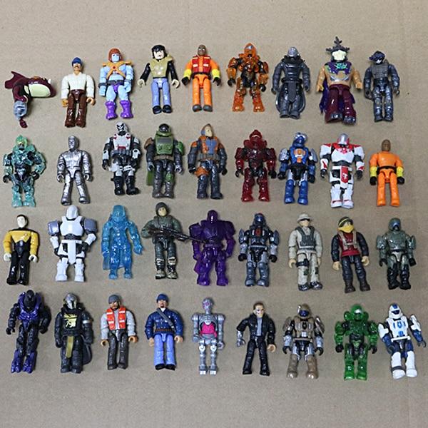 Lot of 10 Lego Minimates Marvel DC X-Men Lotor Super Hero Random Action Figure