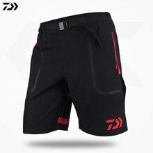 Daiwa одежда для рыбалки летние шорты свободные спортивные быстросохнущие дышащие водонепроницаемые походные брюки с подогревом