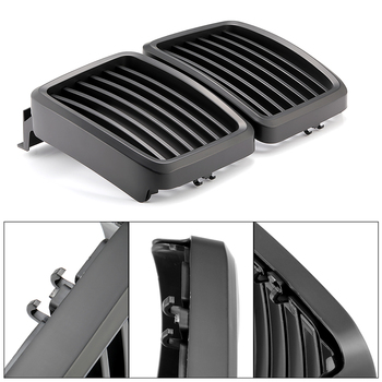 Newest Front Grill Grilles For BMW 3 Series E30 M40 1982-1994 Mid Grille Matte Grilles Parts Car Styling Accessories Grill 2020 image