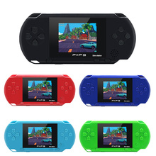 3 Inch 16 Bit PXP3 Slim Station Video Games Player Handheld Game Console with 2 Pcs Free Game Card  built in 150 Classic Games