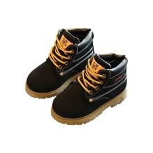 Baby Autumn Winter Martin Boots Children Warm Soft Comfort Boots Shoes Boys Girls Winter Casual Waterproof Non-slip Snow Boot