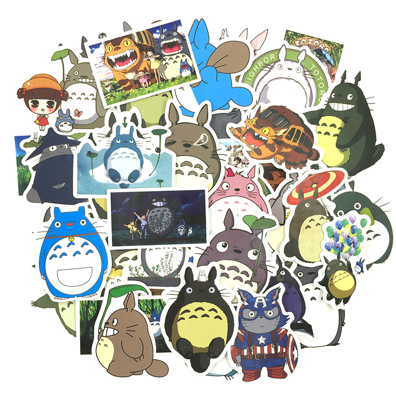 Amazon.com: Anime My Neighbor Totoro Cute Badges Pins Brooches, Anime  Collections Clothes Backpack Accessories Set of 6Pcs: Clothing
