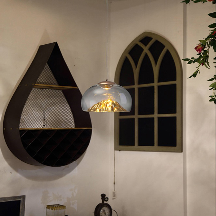 Modern Glass Pendant Lights, Modern Lamp Lights For Home, Ball Light With E27 Socket Ac100-240v Luminaire Suspendu