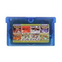 Nintendo GBA Video oyunu kartuşu konsolu kart koleksiyonu İngilizce dil EG012 24 in 1