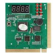 Диагностические PCI 4-разрядный карта PC материнская плата после проверки тестер анализатор для ноутбука
