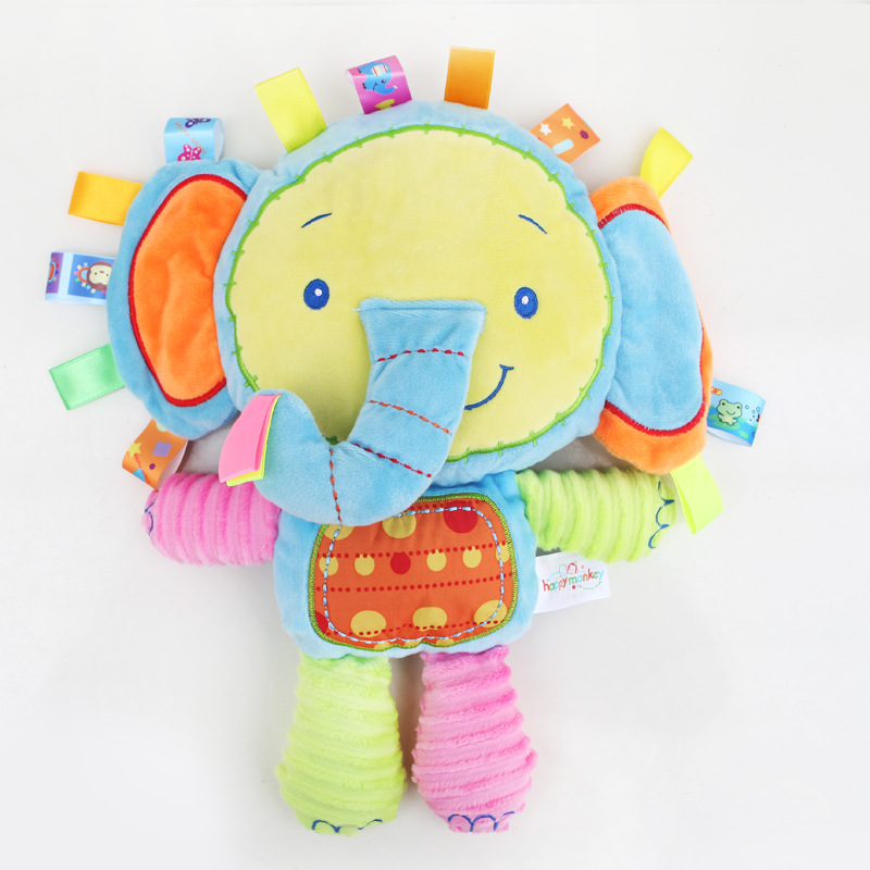 Toys & Hobbies ... Stuffed Animals & Plush ... 32328553748 ... 4 ... 8 Styles Baby Toys Plush Rattles Cute Stuffed Animal Infant Educational Learning Toys Gift for Toddler Children 0-12 month WJ199 ...
