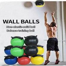 Medicine-Ball Wall-Ball Soft-Training Gym Fitness Non-Elastic PU