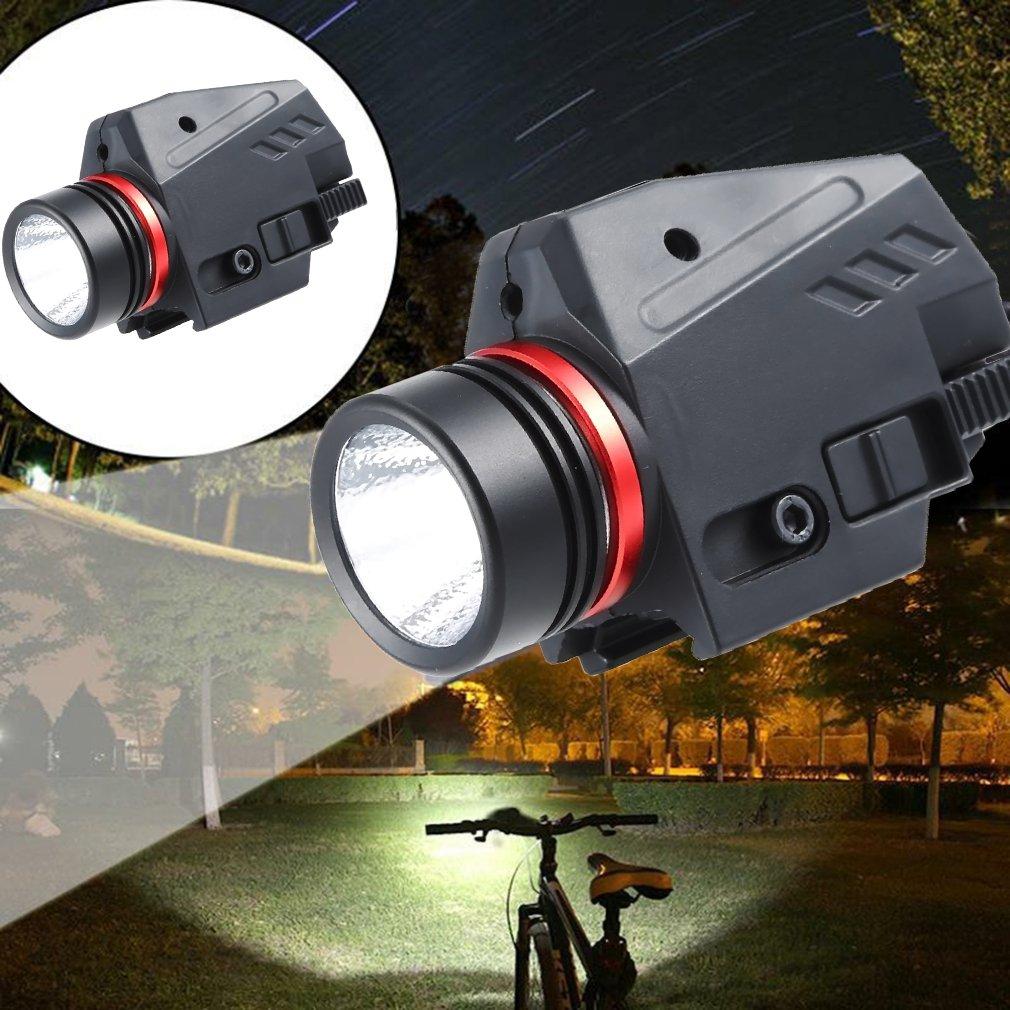 Tactical LED Weapon Gen Light Flashlight Red Dot Laser Sight Military Airsoft Pistol Gun Light for 20mm Rail Mini Pistol Gen-1