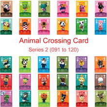 Animal Crossing Card Amiibo Work for NS 3D Games Amibo Switch New Horizons Series 2 (091 to 120) Villager