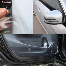 Rhino Skin Protective Vinyl Film Protection Sticker Anti Scratch Clear Transparence For Auto Car Bumper Hood Paint Decal