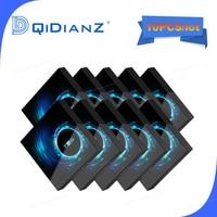 Conversor smart tv box 10 pol. t95 android 10 6k h616 quad core media player aplicativo gratuito rápido pk hk1max h96