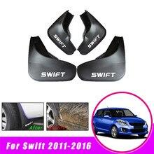 Передняя тыльная грязь закрылки для Suzuki Swift 2011- крыло брызговики Брызговики автомобильные аксессуары 4 шт