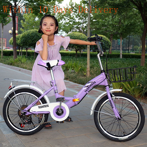 18 Inch Childs bicicleta Lightweight Mini Removable Bike Small Protable Without Pedal Bike for Student Kids Bicycle Gift Out Bik
