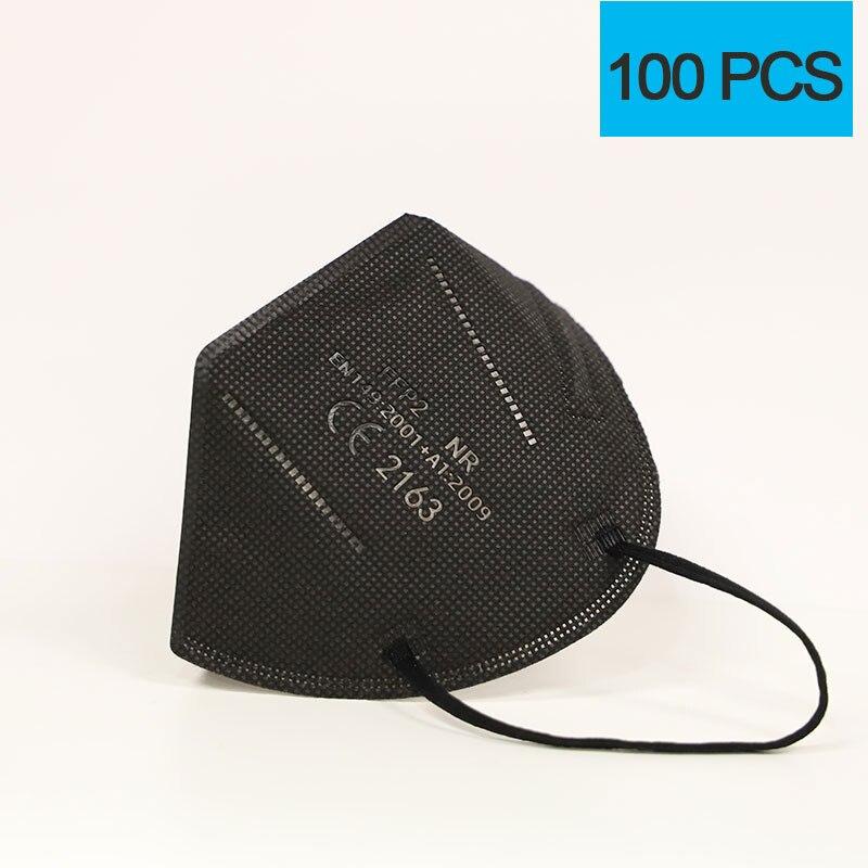 100pcs Black