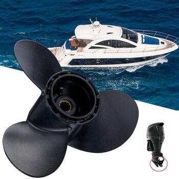 10 1/4 x 12 Aluminum Outboard Boat Propeller for Suzuki 20-30HP 58100-96430-019