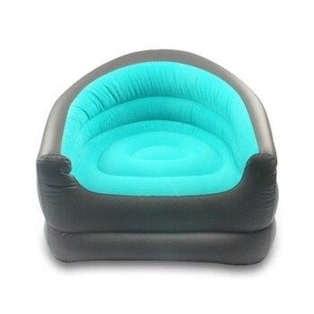 Air Sofa Fast Inflatable Lazy Bag Air Sleeping Bag Outdoor Camping Portable Air  Beach Inflatable Chair Sofa