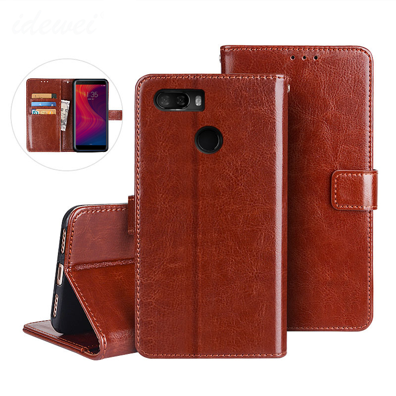 Flip Leather Case For <font><b>Lenovo</b></font> K5 Play <font><b>L38011</b></font> Cover PU Leather Wallet Stand Funda <font><b>Lenovo</b></font> K5 Play 2018 Phone Protective Case Shell image