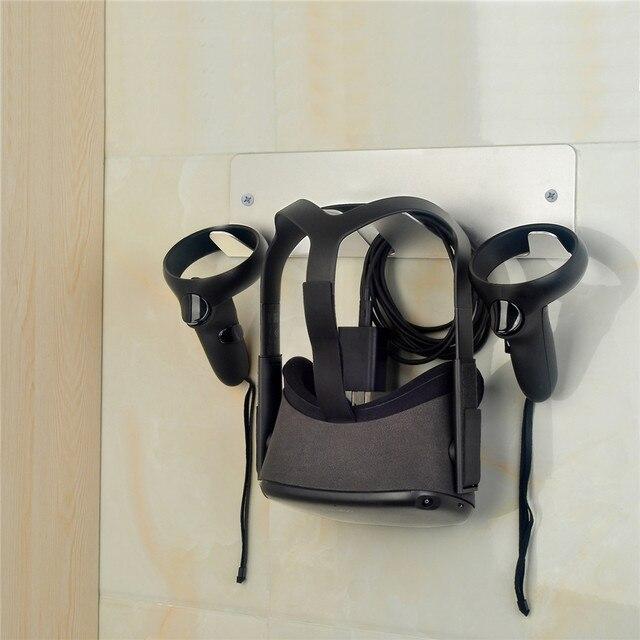 جدار جبل حامل ل Oculus الصدع/الصدع S/كويست سماعات VR تخزين حامل ل HTC فيف/فيف برو للبلاي ستيشن VR اكسسوارات